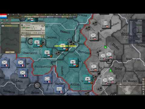 Hearts of Iron III TFH Luxembourg One Tag WC Ep16