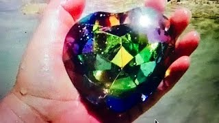 REAL RAINBOW HEART OF OCEAN GEMS FOUND ON REMOTE ISLAND