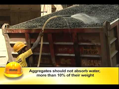 HOW TO CHOOSE GOOD QUALITY COARSE AGGREGATES