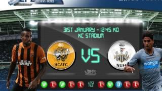 Hull City Vs Newcastle United EFL Cup 30/11/2016 Penalty Shootout