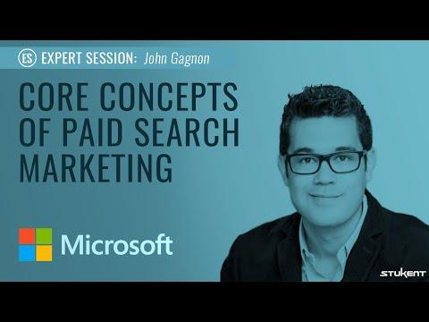Stukent Expert Session: Core Concepts of Paid Search Marketing w/John Gagnon