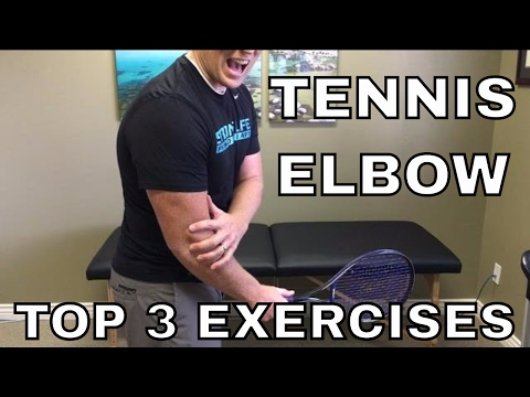 Tennis Elbow: Top 3 Exercises (Lateral Epicondylitis)
