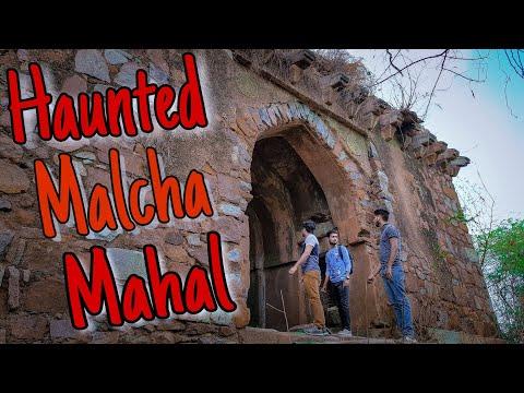 Day Visit in Haunted Malcha Mahal of Delhi/Delhi's Most Haunted Place/kings of awadh in malcha mahal