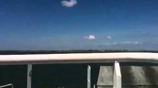 Départ du bac Le Verdon sur mer- Royan