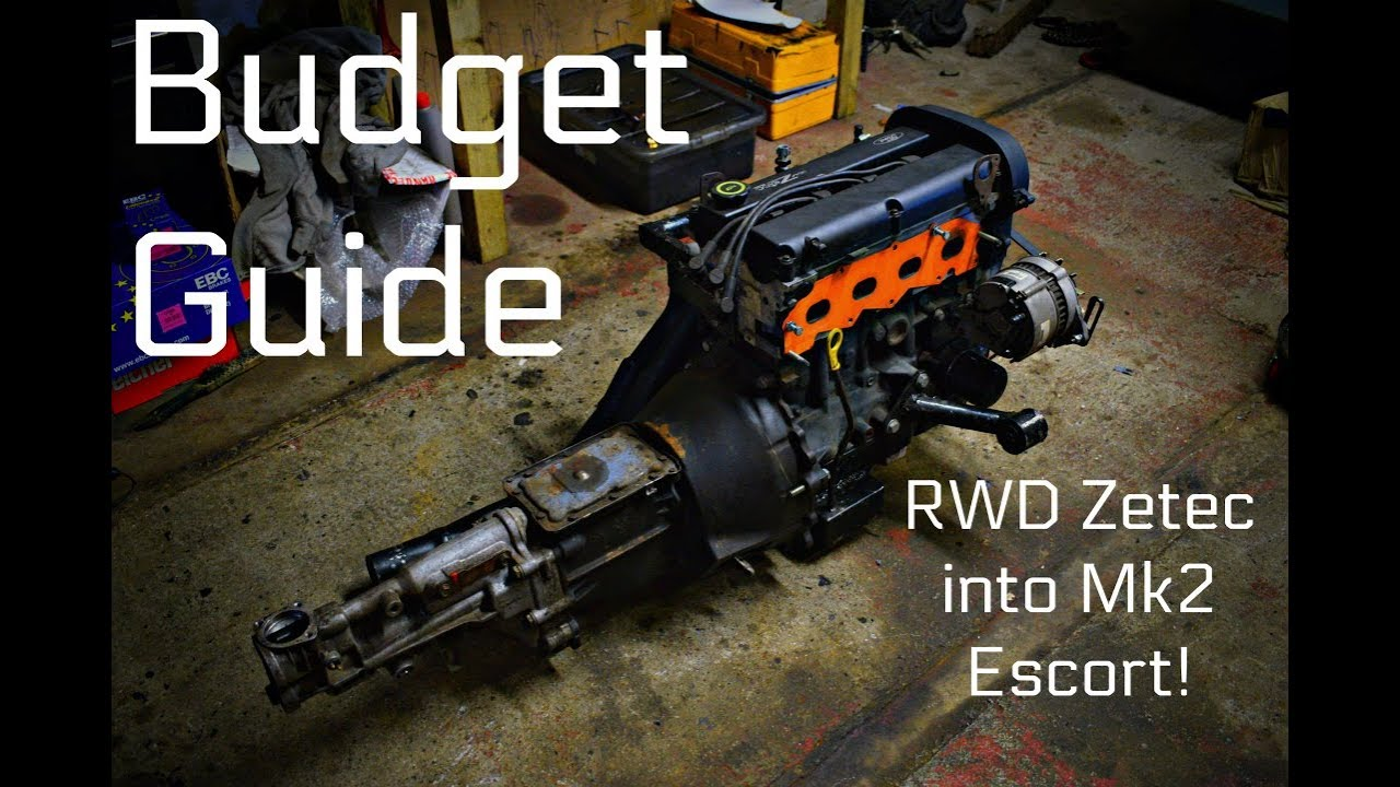 Budget RWD Zetec Guide MK2 Escort What I Used