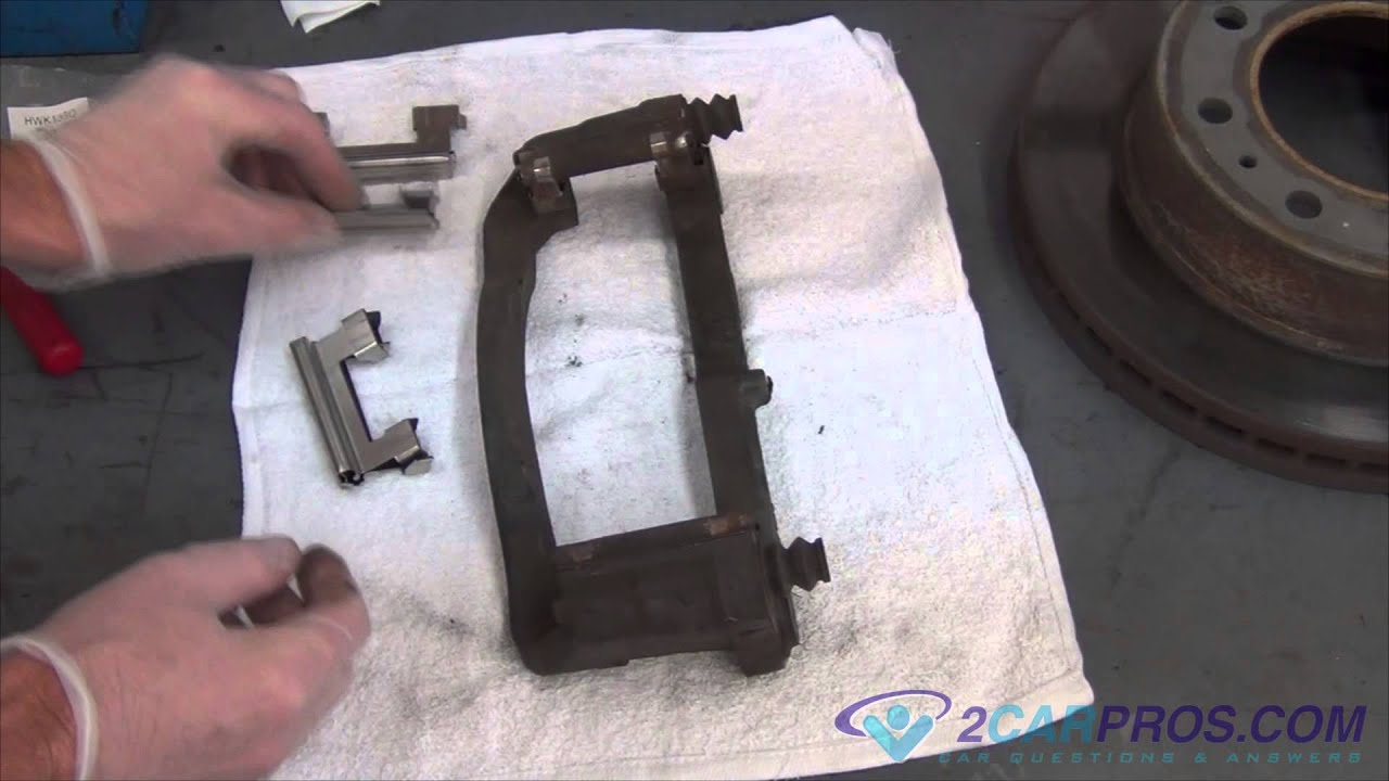 medium resolution of front brake pads rotor replacement chevrolet silverado 2500 hd 1996 2006 youtube