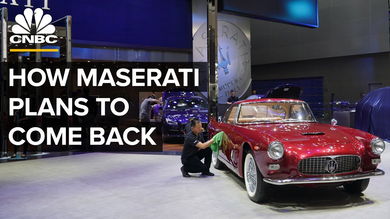 How Maserati Is Staging A Comeback