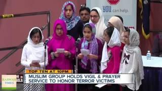 abc7: Ahmadiyya Muslims host vigil to honor Brussels terror attack victims