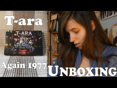 Unboxing - T-ara - Again 1977 / Do You Know Me? - 5th mini album repackage