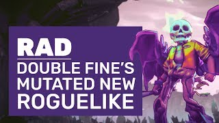 Rad Gameplay | First Impressions Of Double Fine's Mutant Roguelike
