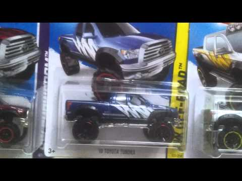 Hot Wheels '10 Toyota Tundra All Line Up
