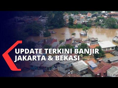 Fenomena Hujan Ekstrem, Ribuan Rumah di Jakarta dan Bekasi Terendam Banjir