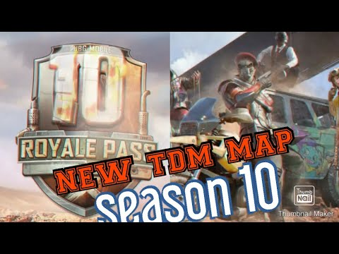 New Season 10 Update In Pubg Mobile And New Tdm Map Youtube