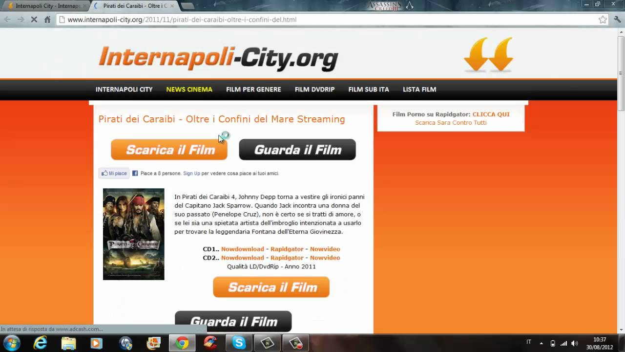 SCARICARE INTERNAPOLI CITY FILM DA