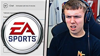 ARGUING WITH THE EA SPORTS LIVE CHAT!!!