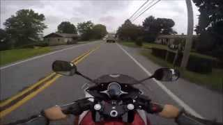 2012 Honda CBR250 super fast test ride review