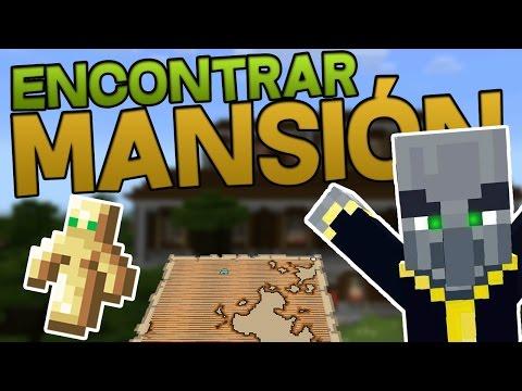 COMO ENCONTRAR LA MANSIÓN DE MINECRAFT 1.11 EXPLORATION UPDATE