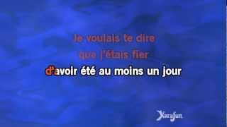 Karaoké Ta main - Grégoire *