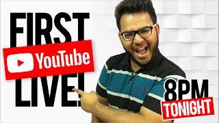My First Livestream!