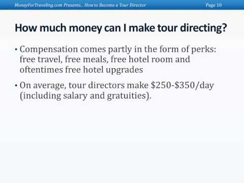 Tour Director Pay And Benefits