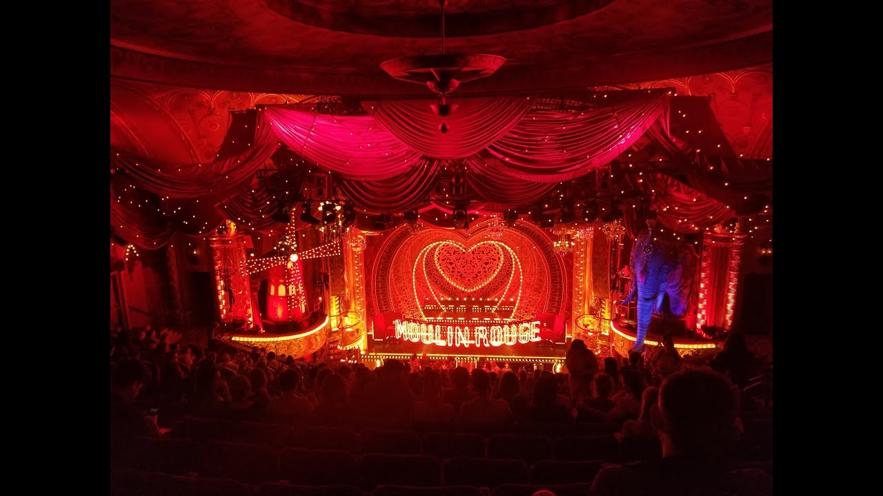 Moulin Rouge The Musical On Broadway Review Youtube