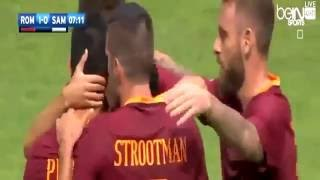 Video Gol Pertandingan Sampdoria vs AS Roma