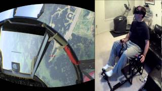 War Thunder with Oculus Rift and Max Flight Stick (TriDef for 3D with Opentrack)