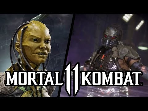 Mortal Kombat 11 - Unburned Kabal and D'vorah confirmed & Return of 2D Era Characters? thumbnail