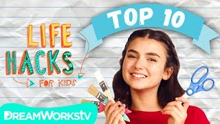 The Top 10 Hackiest Hacks Ever | LIFE HACKS FOR KIDS