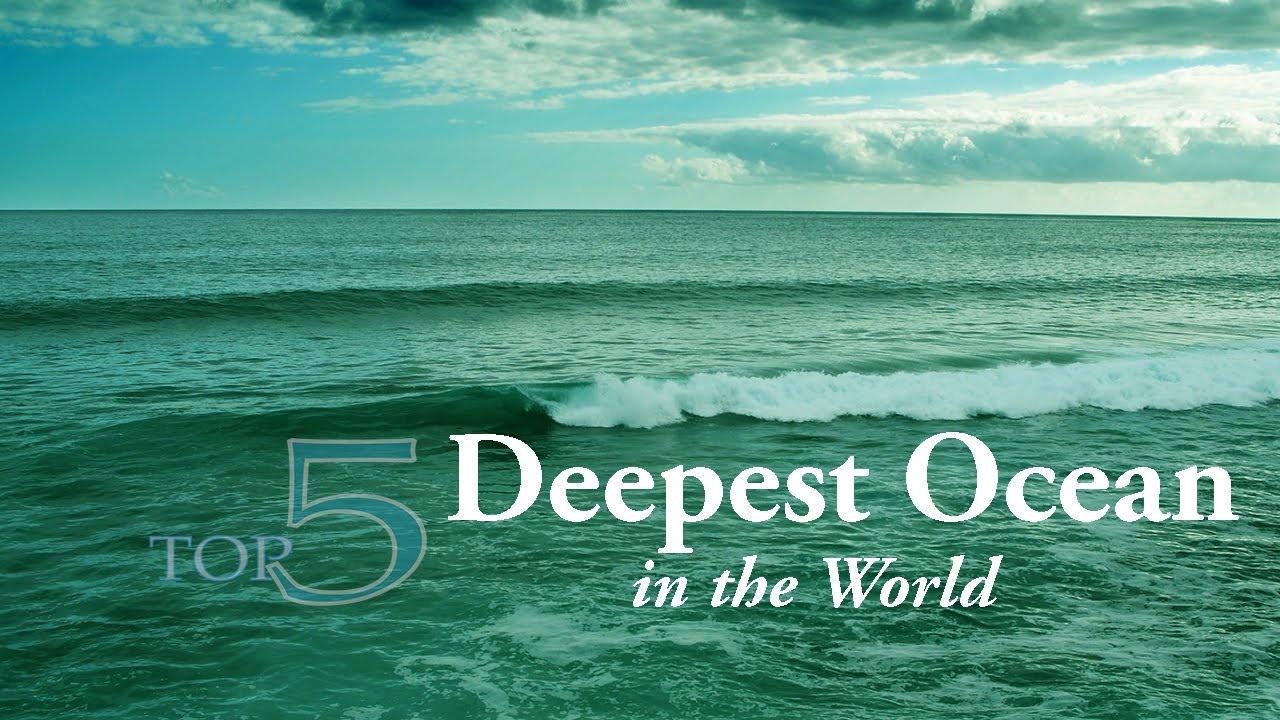 The antarctic ocean is the coldest ocean in the world. Top 5 Deepest Ocean In The World By Average Depth Youtube