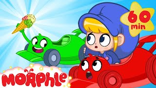 The Ice Cream Race  Morphle Vs Orphle | Cartoons for Kids | Mila and Morphle | Morphle TV