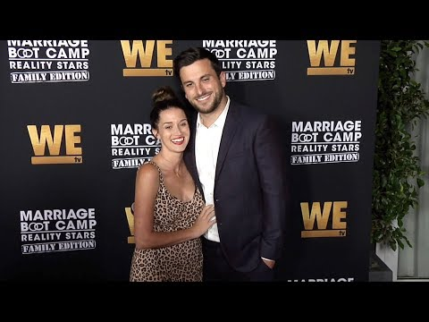 "Jade Roper And Tanner Tolbert ""Marriage Boot Camp: Family Edition"" Premiere Red Carpet"