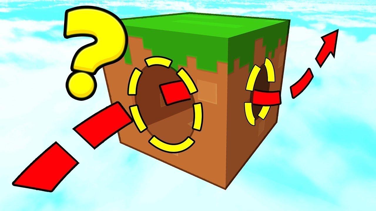 Что Внутри этого Блока в Майнкрафт? Прохождение паркур ...