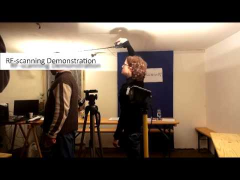 Radio Frequency Scanning Demonstration