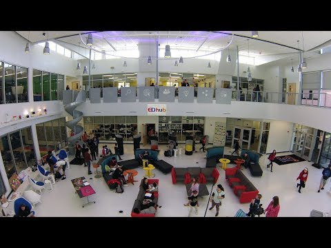 EDhub: Building a 21st Century Space to Transform Learning