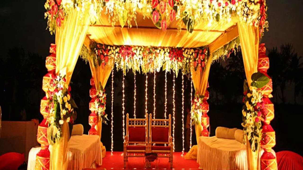 Floral decor ideas for weddings at banquet halls in kolkata youtube junglespirit Choice Image