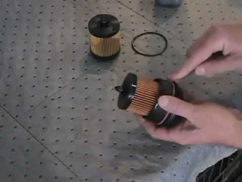 FilterSavvy - Luber-finer - How to Change a Cartridge Oil Filter in a Chevy HHR.wmv