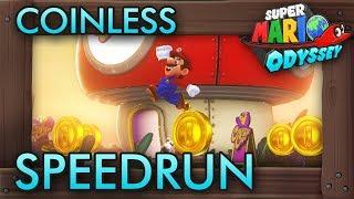 Super Mario Odyssey - Coinless Speedrun