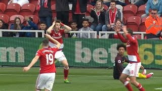 Middlesbrough, Man City play to exciting 2-2 draw