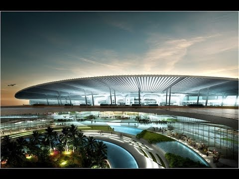 Mumbai's Chhatrapati Shivaji International Airport, India -