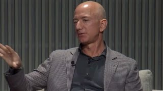 Jeff Bezos speaks at Wired25 summit