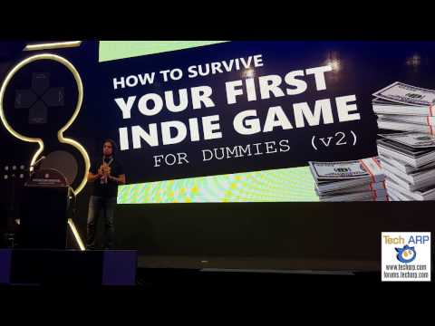 The Indie Game Development Survival Guide Presentation by Rami Ismail @ Level Up KL 2016