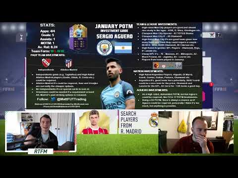 JANUARY PLAYER OF THE MONTH INVESTING GUIDE! (FIFA 18 Investing)