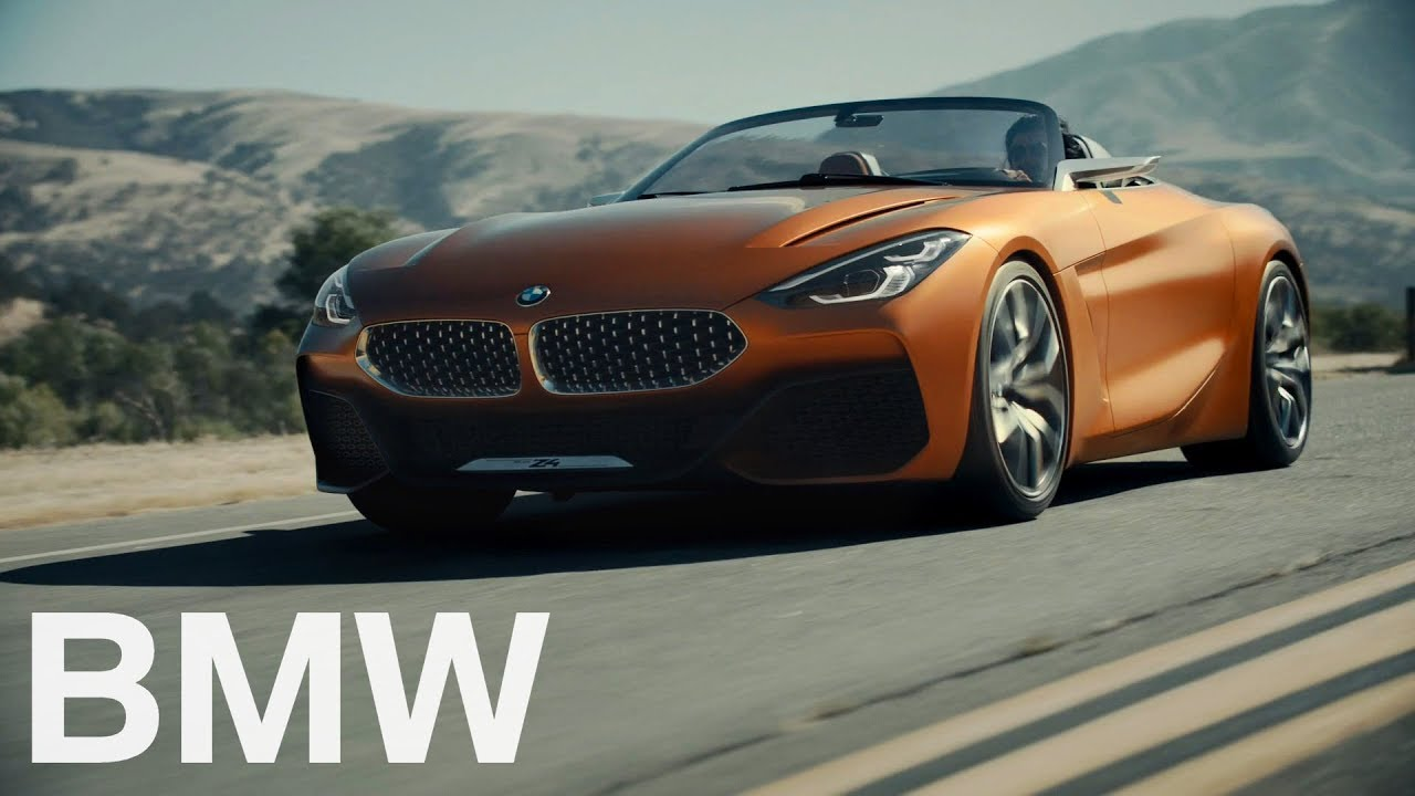 Sharp Bmw Z4 Concept Previews Production Roadster In
