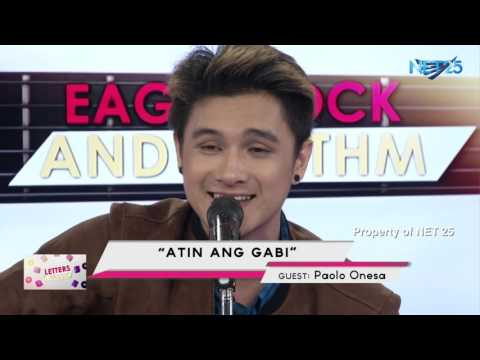 PAOLO ONESA - ATING ANG GABI (NET25 LETTERS AND MUSIC)