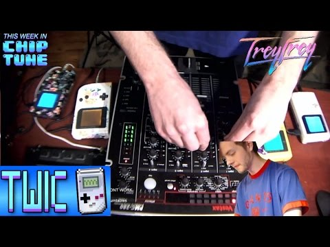 Live Chiptune Performance with Four Gameboys! (Trey Frey) - This Week in Chiptune