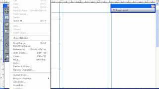 Главное меню - основные пункты меню QuarkXpress 8 (2/55)
