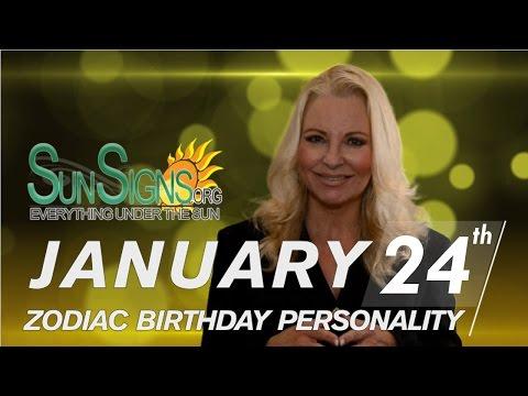 Facts & Trivia - Zodiac Sign Aquarius January 24th Birthday Horoscope