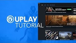 So funktioniert UPlay // Großes Tutorial (Deutsch)
