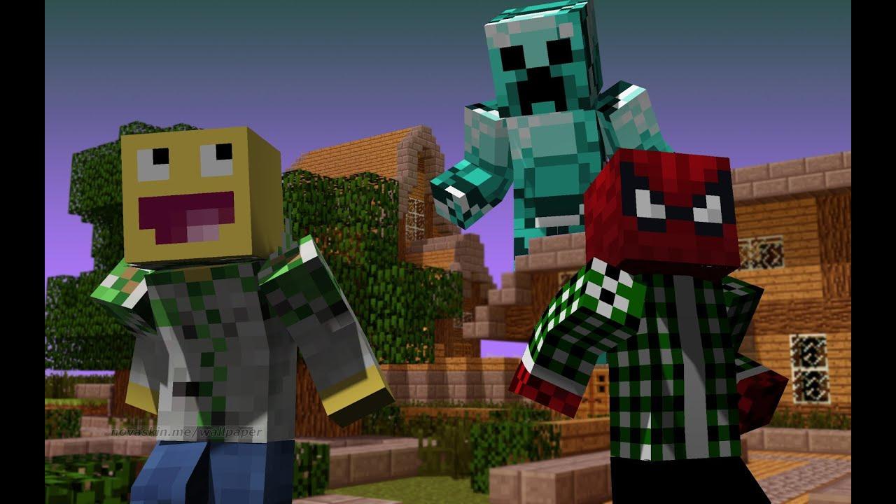 Minecraft Wallpaper 3d Herobrine Minecraft Jak Zrobić Tapety Z Samym Sobą I Z Znanymi